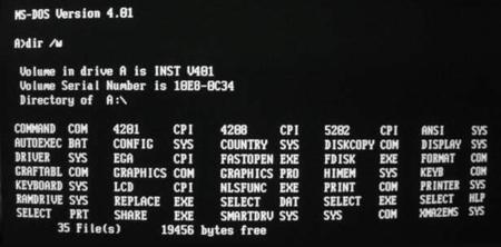 DOS / Microsoft IP Komutları