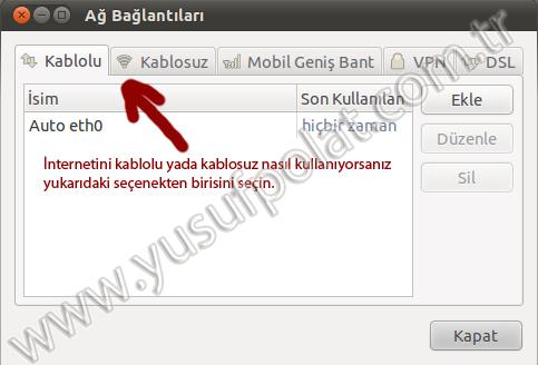 Ubuntu 10.10 DNS Değiştirme 2
