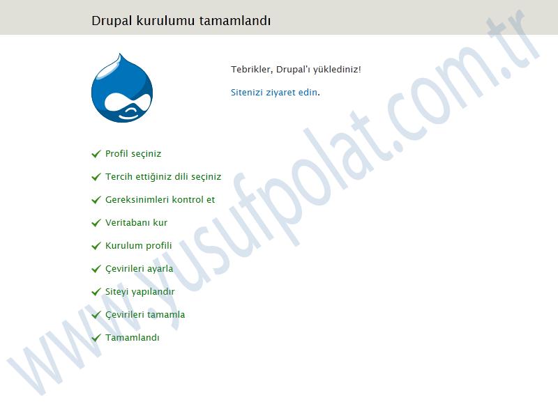 Drupal 7 Install 7