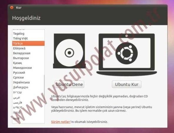 Ubuntu 11.04 Kurulum Resimli Anlatım 1