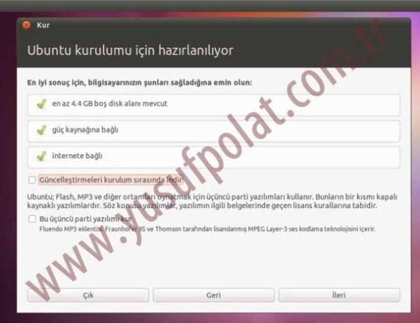 Ubuntu 11.04 Kurulum Resimli Anlatım 2