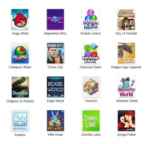 Google + (Plus) Games Yayında