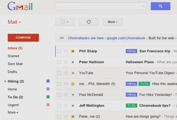 Gmail İçin Yeni Arayüz