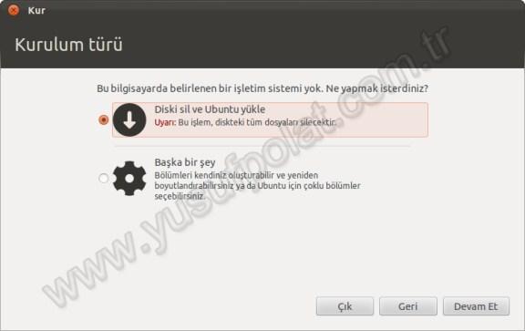 Ubuntu 11.10 Kurulum 3