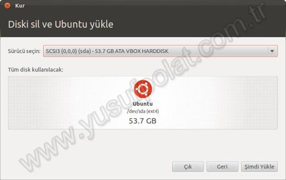 Ubuntu 11.10 Kurulum 4