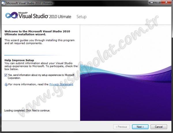 Visual Studio 2010 Kurulumu Resimli Anlatım 3