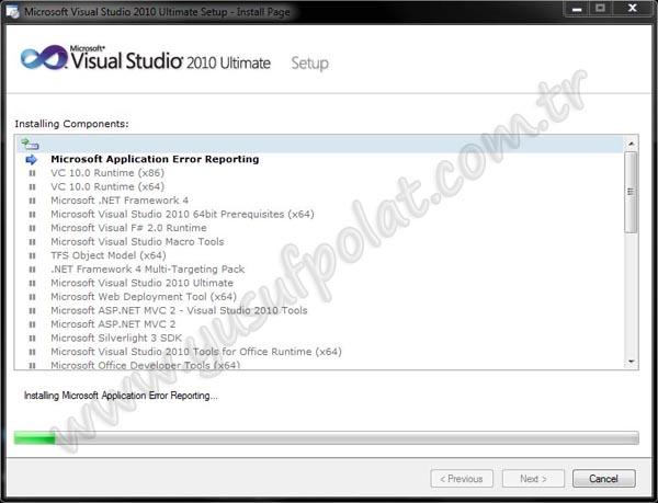 Visual Studio 2010 Kurulumu Resimli Anlatım 6