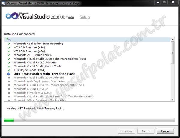 Visual Studio 2010 Kurulumu Resimli Anlatım 7