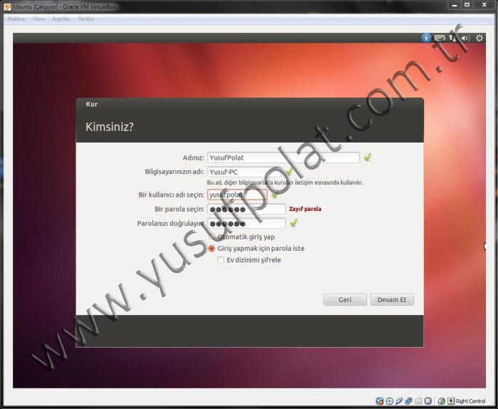 Ubuntu 12.04 Kurulum (Resimli Anlatım)