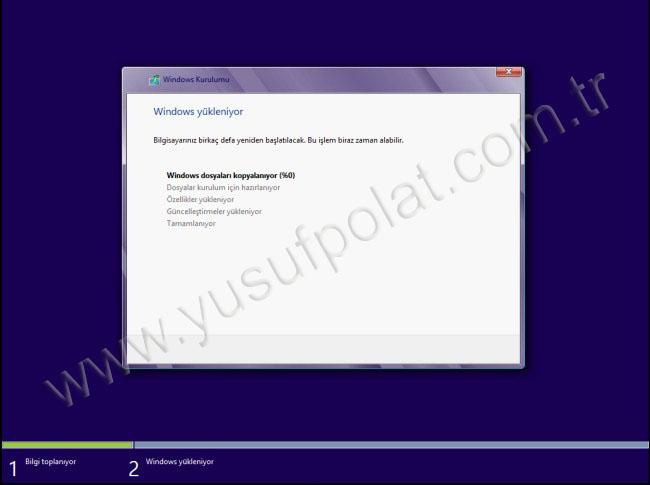 Windows 8 Kurulum Resimli Anlatım 3