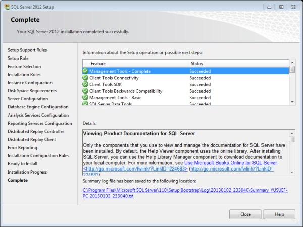 Sql Server 2012 Kurulum Resimli Anlatım 26