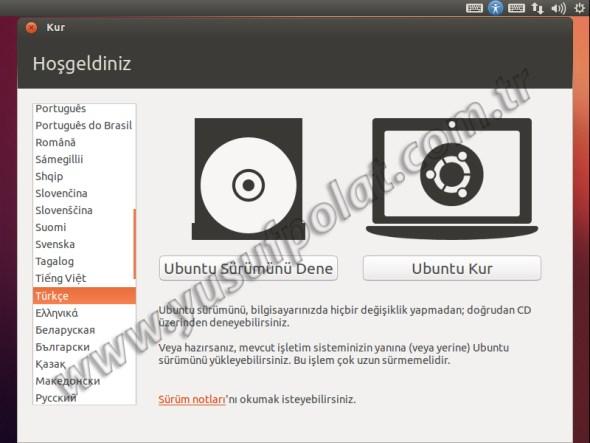 Ubuntu 12.10 Kurulum 3