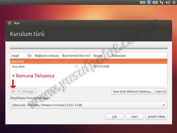Ubuntu 12.10 Kurulum 8