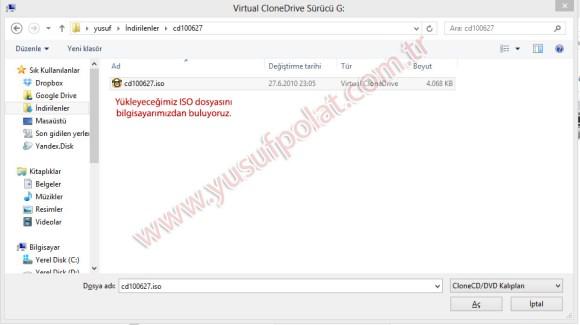 Windows'ta Sanal Sürücü Kurulumu 6