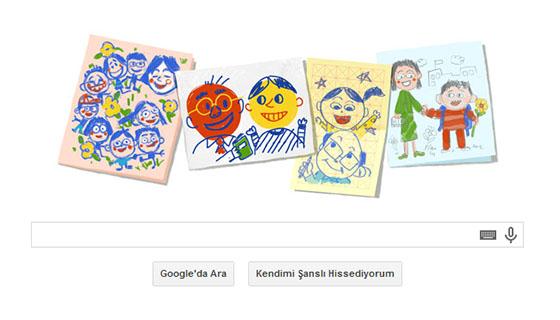 24 Kasım 2013 Öğretmenler Günü Doodle