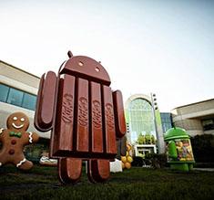 Android 4.4 Kitkat Sürümü Romlar Geliyor