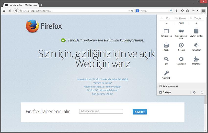 Mozilla Firefox 29 Sürümü Yayınlandı & Mutlaka Güncelleyin