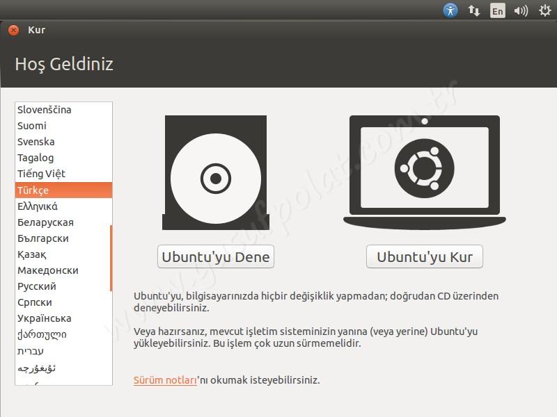 Ubuntu 14.04 Kurulum 2