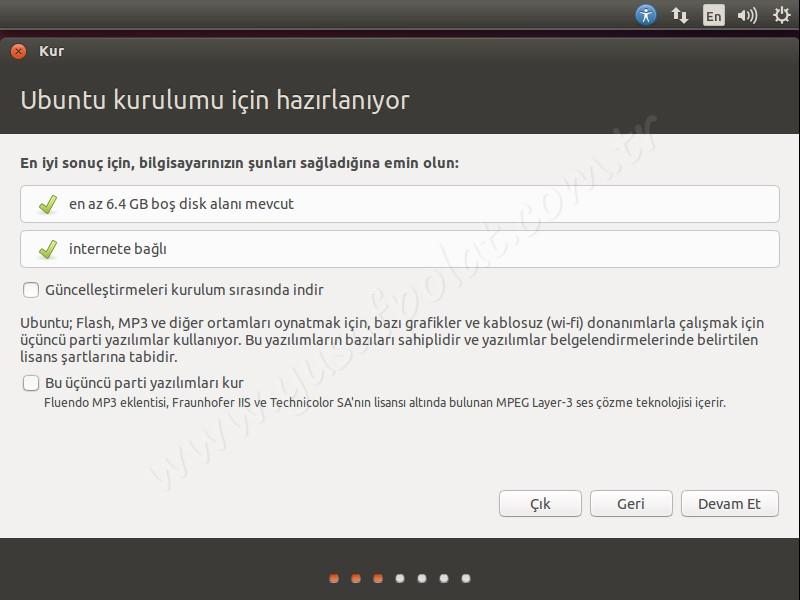 Ubuntu 14.04 Kurulum 3