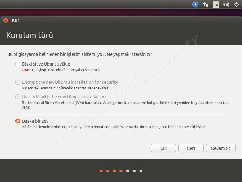 Ubuntu 14.04 Kurulum 4