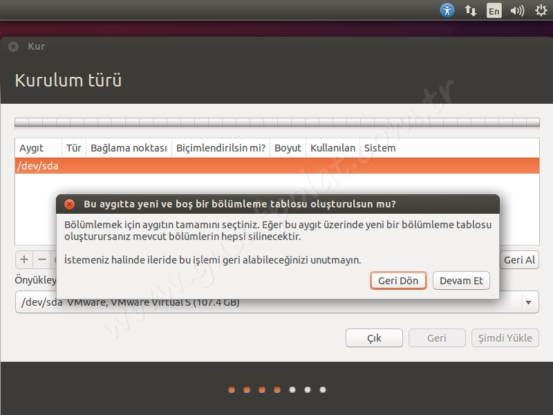 Ubuntu 14.04 Kurulum 6