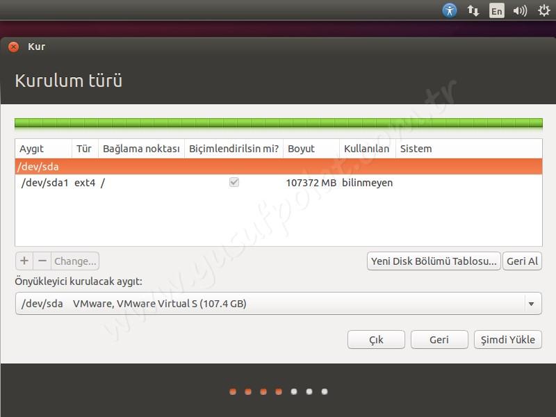 Ubuntu 14.04 Kurulum 8